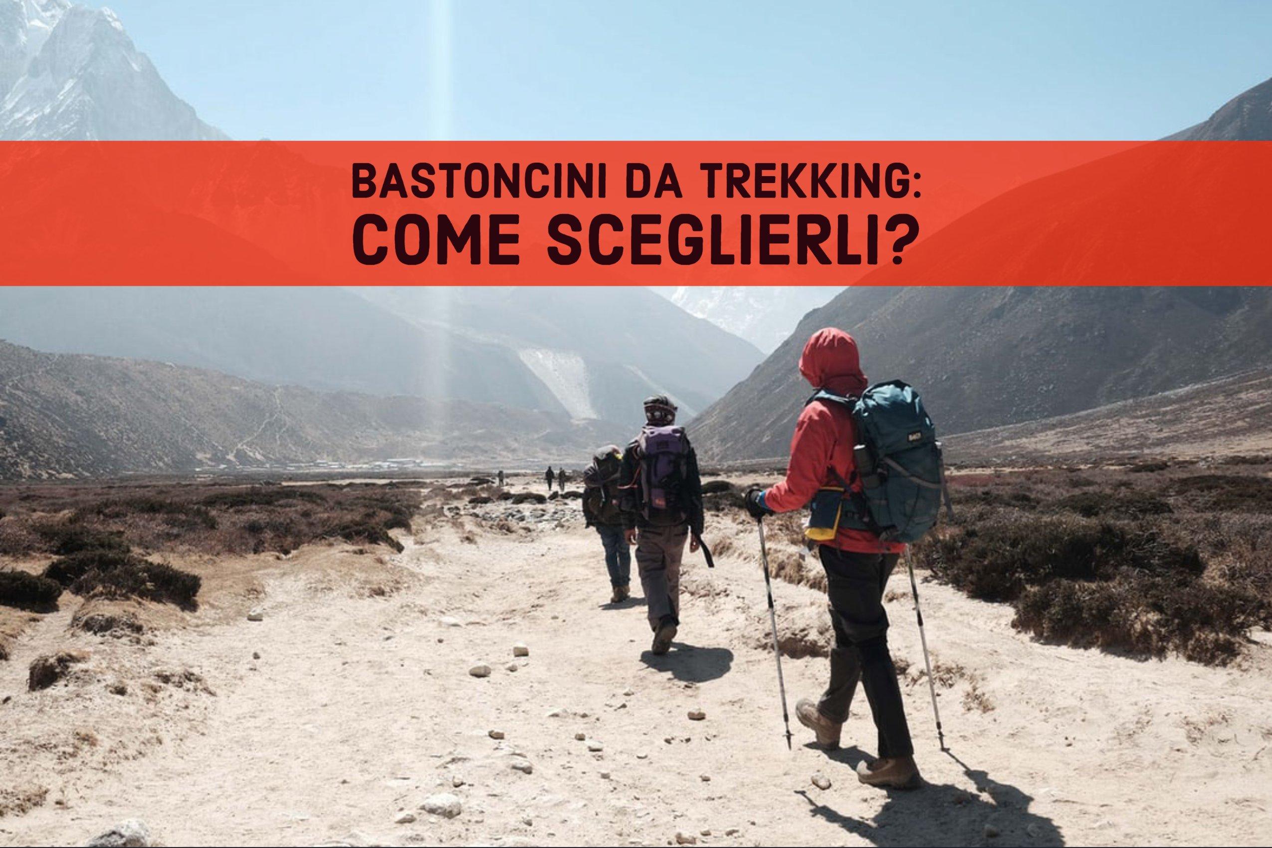 Una giornata di trekking: quali bastoncini comprare?
