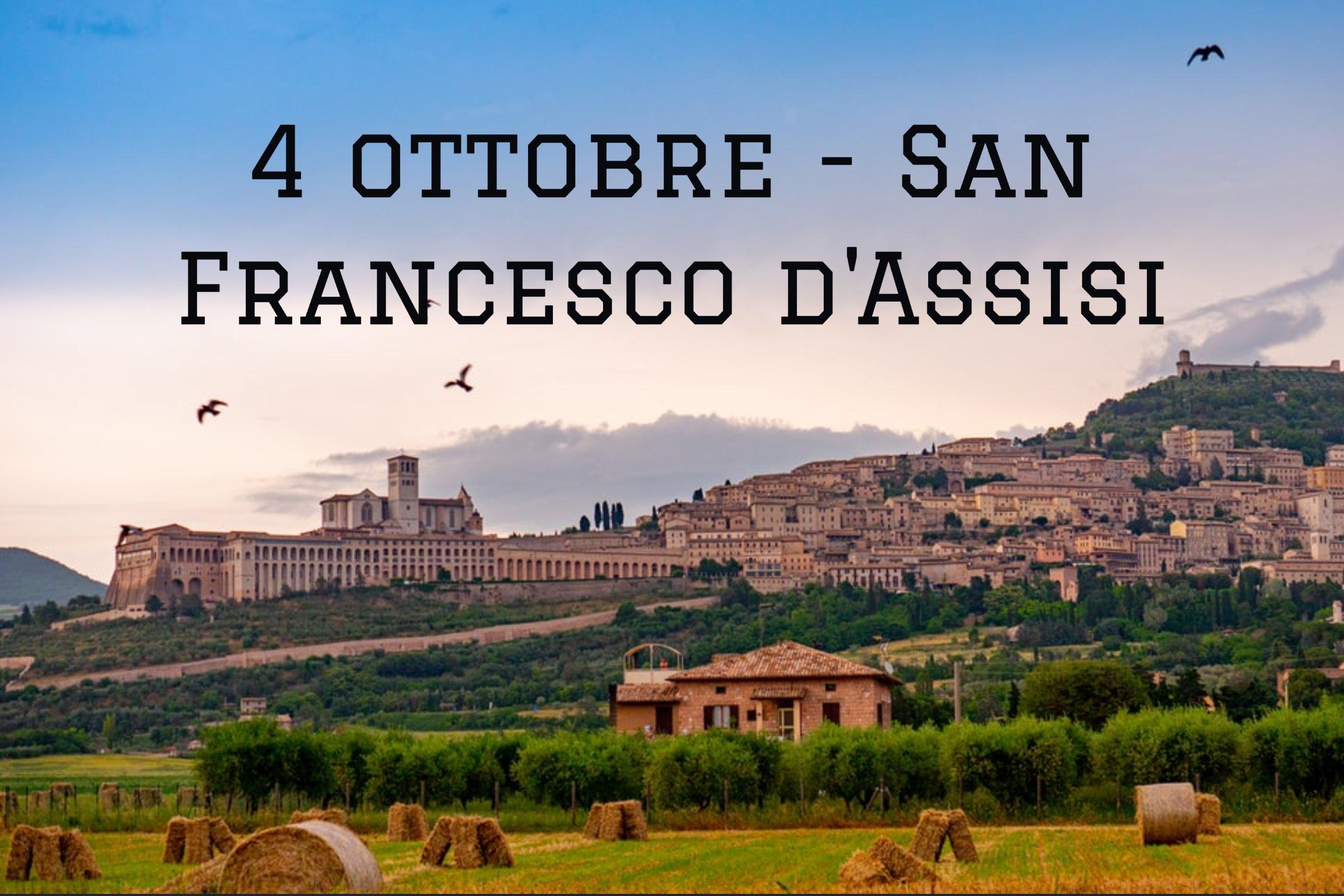 4 ottobre: San Francesco, protettore dei lupetti