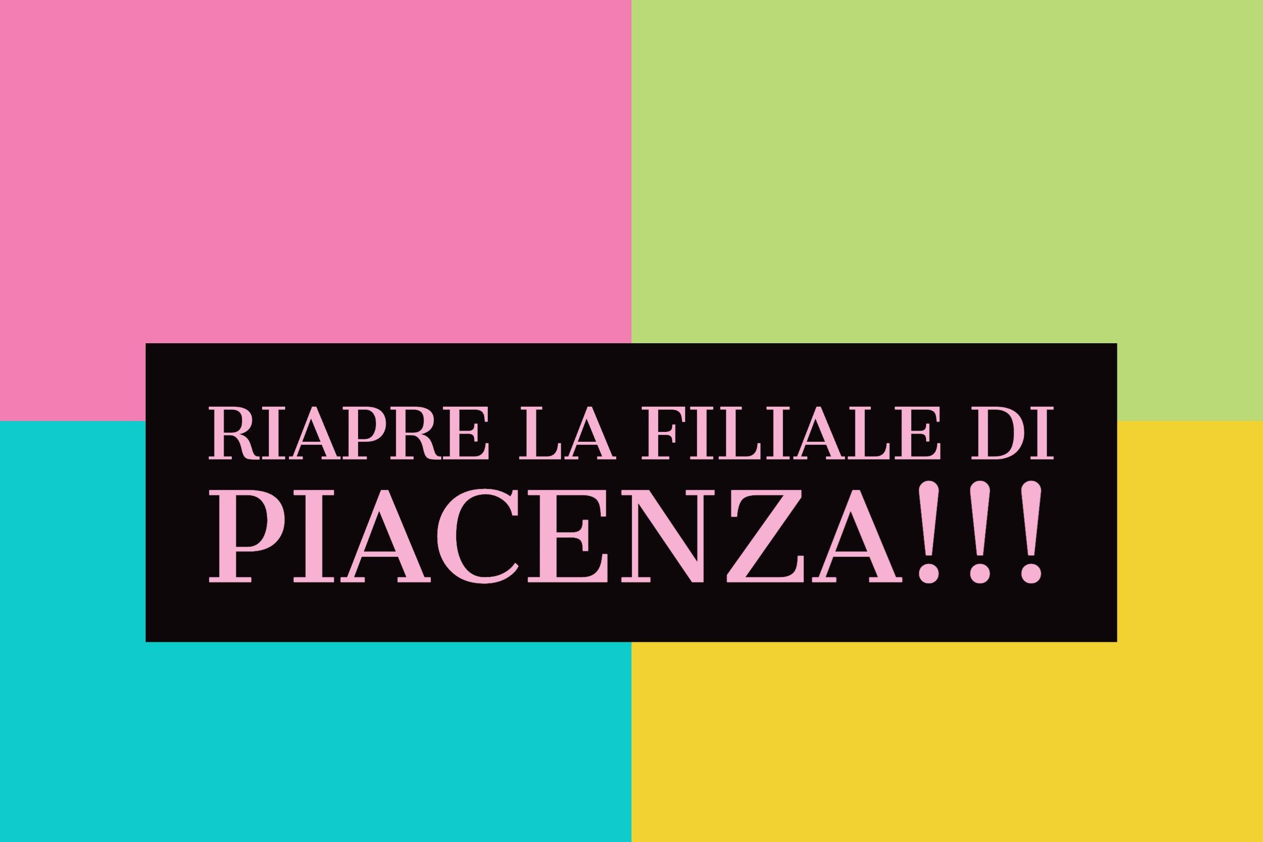 Apertura nuova filiale di Piacenza